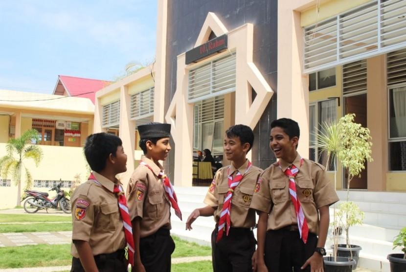 Pemuda Malaysia dan Thailand Nyantri di Ar Risalah Padang