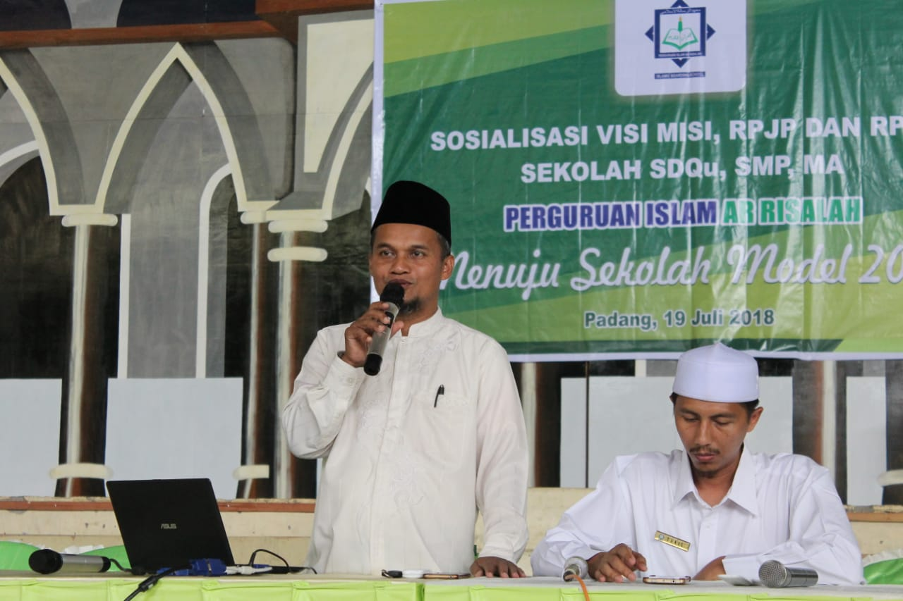 Visi 2030, Ar Risalah Sumbar Menjadi Center of Excellence Nomor 1 di Sumatera