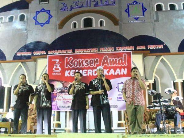Perguruan Islam Ar Risalah Gelar Konser Amal Kemerdekaan