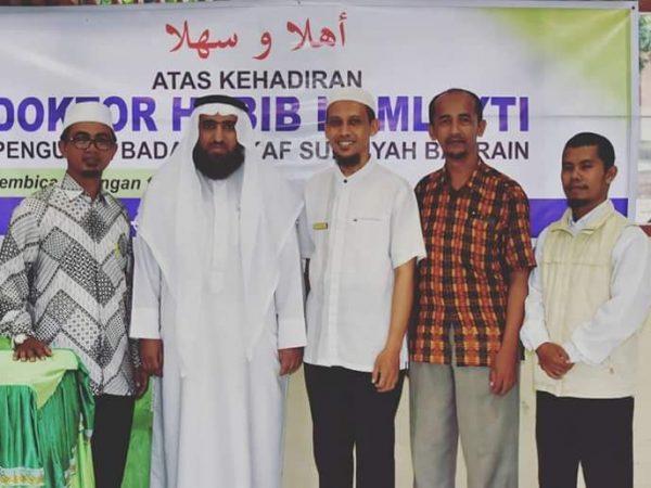Habib Namlayti Isi Kuliah Umum Ma'had Aly Ar Risalah