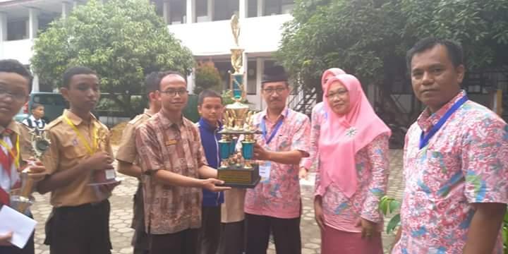 Pra OSN Matematika Kota Padang, Ar Risalah Juara Umum