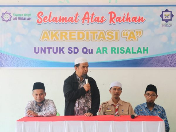 Raih Akreditasi A, SD-Qu Ar Risalah Syukuran Bersama Masyarakat