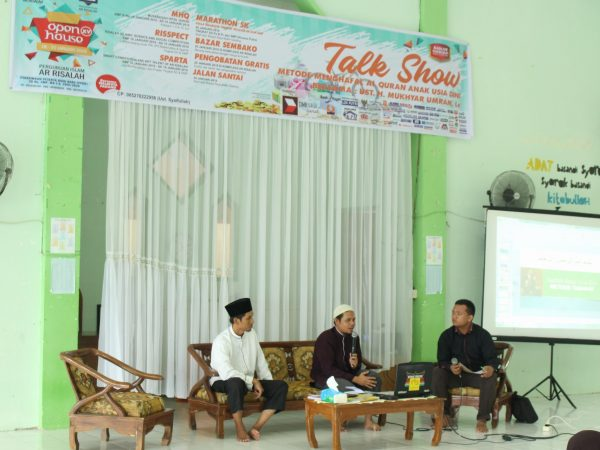 Ar Risalah Adakan Talk Show Menghafal Al Qur'an Bagi Anak Usia Dini