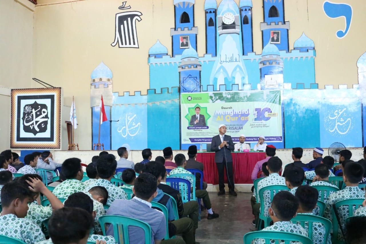 Dauroh Qur'an Siswa Putra Perguruan Islam Ar Risalah Sumatera Barat