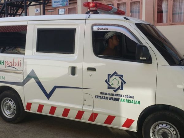 Ambulan Gratis Ar Risalah Layani Berbagai Kegiatan Sosial kemanusiaan