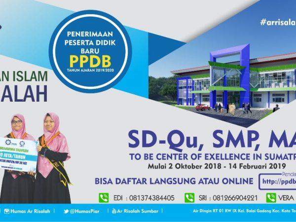 PPDB MA Internal Perguruan Islam Ar Risalah