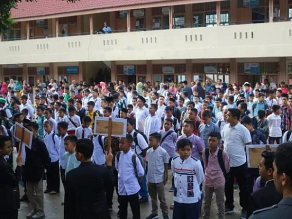 Lebih Dari 1000 Pendaftar Ikuti Seleksi Masuk SMP Ar Risalah