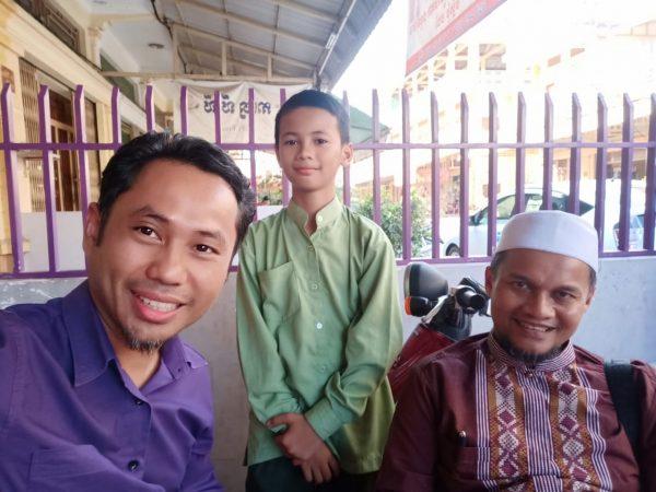 Insyaallah, Farhan Jadi Siswa Pertama dari Kamboja