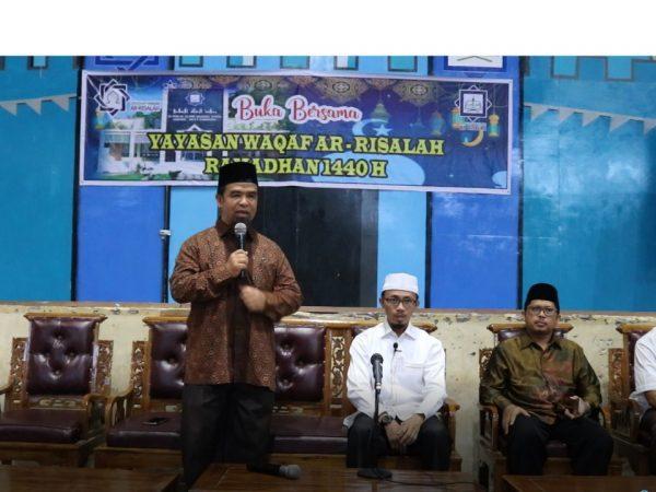 Keluarga Besar Yayasan Wakaf Ar Risalah Sumbar Gelar Buka Puasa Bersama