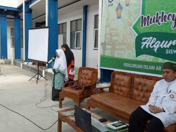 SMP Ar Risalah Sumbar Gelar Mukhayyam Al Qur'an