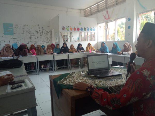 Kunjungi Sekolah Dasar Qur'an, BPW Ar Risalah Sumbar Sosialisasikan Program Wakaf