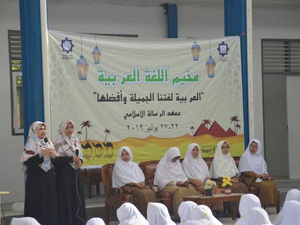 Siswa Baru SMP Ar Risalah Ikuti Arabic Camp