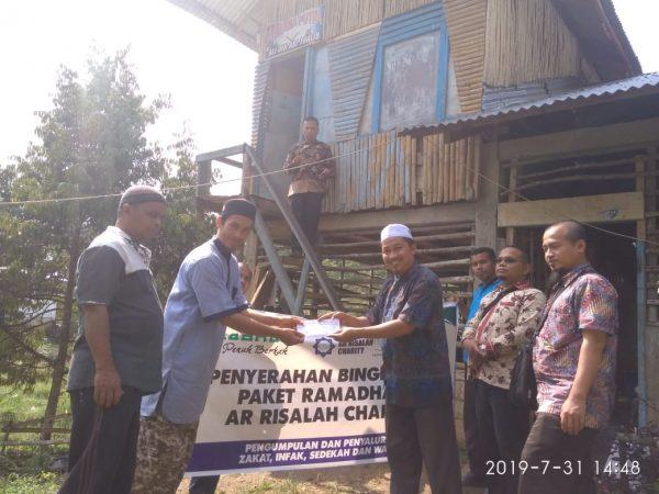 LAZ Ar Risalah Charity Padang Serahkan Bantuan Kepada Pondok Pesantren