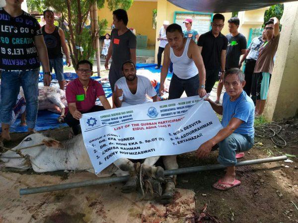 LAZ Ar Risalah Charity Salurkan Qurban Hingga Filipina dan Thailand