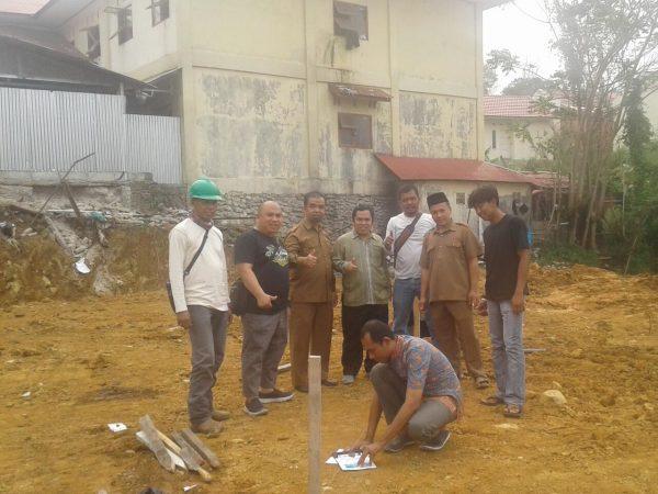 Ar Risalah Tetapkan Arah Kiblat Pembangunan Masjid Ibnu Ismail