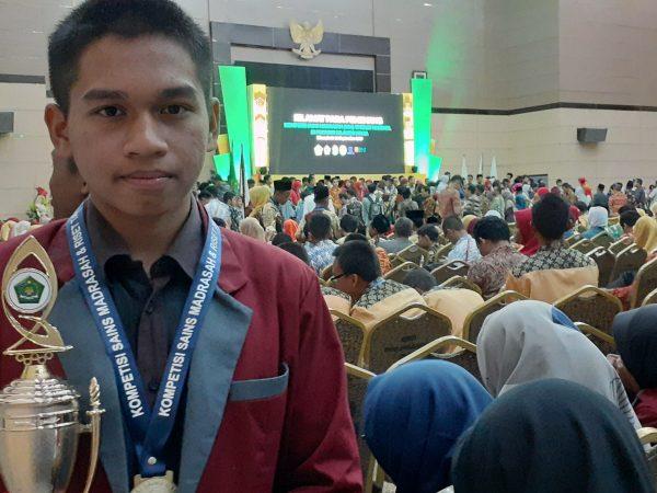 Siswa MAS Ar Risalah 'Berjaya' di KSMN Manado 2019