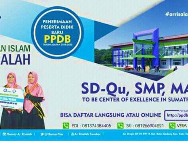 Info Lengkap PPDB Ar Risalah 2020-2021