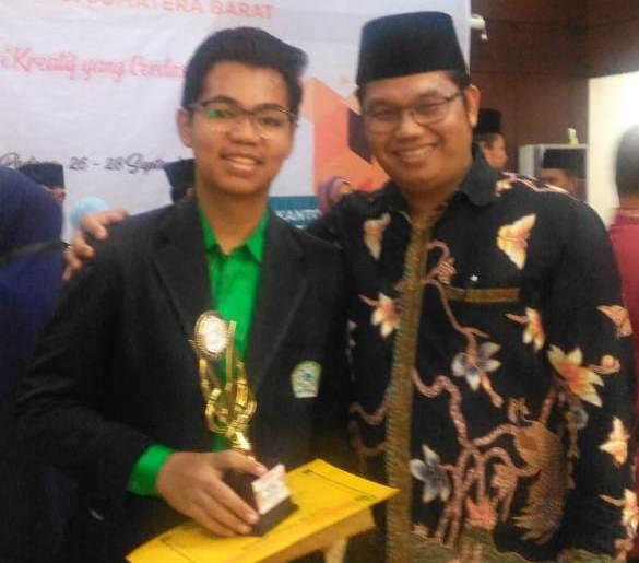 Ar Risalah Ukir Prestasi di Pospenas VIII Tingkat Sumatera Barat