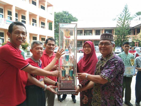Pra OSN IPA Kota Padang 2019; SMP Ar Risalah Juara Umum