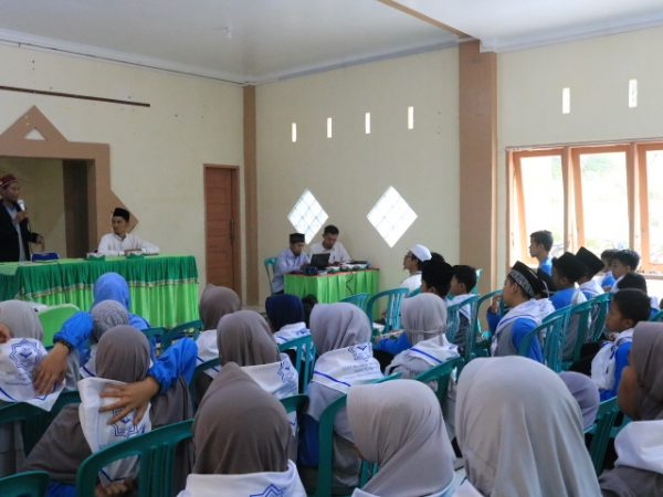 Siswa SDIT Permata Hati 'Antusias' Kunjungi SMP Ar Risalah