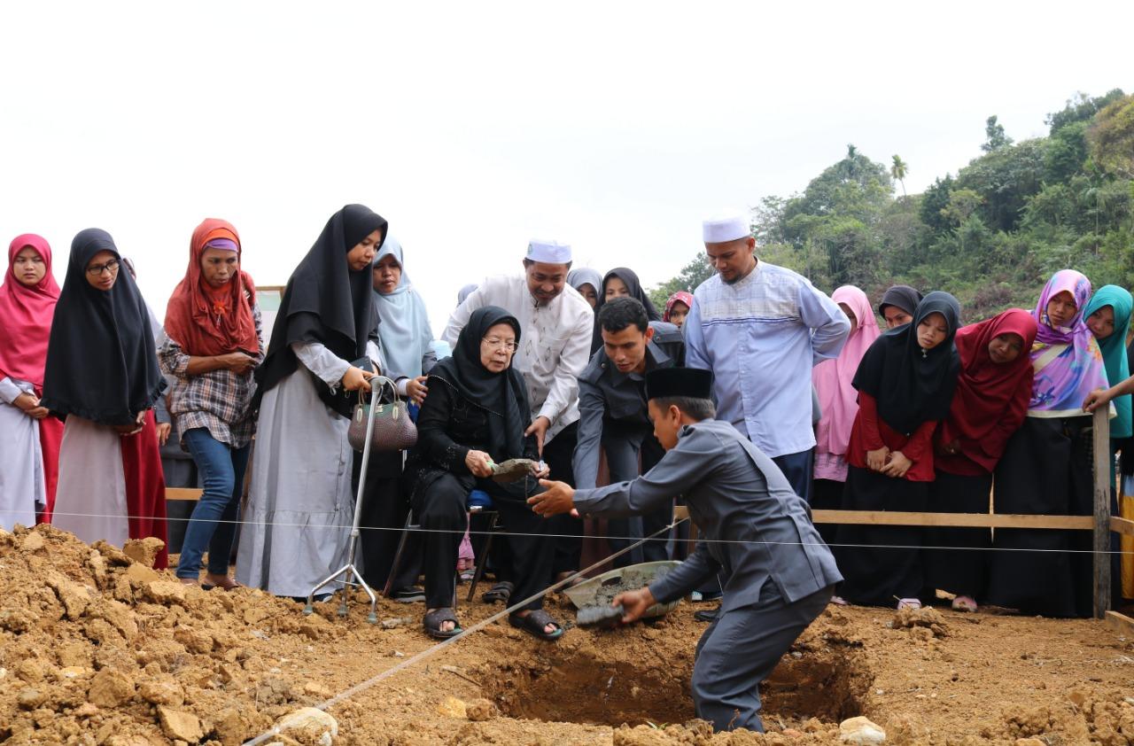 Pembangunan Masjid 'Baitul Ibnu Ismail' Kampus Ar Risalah Dimulai
