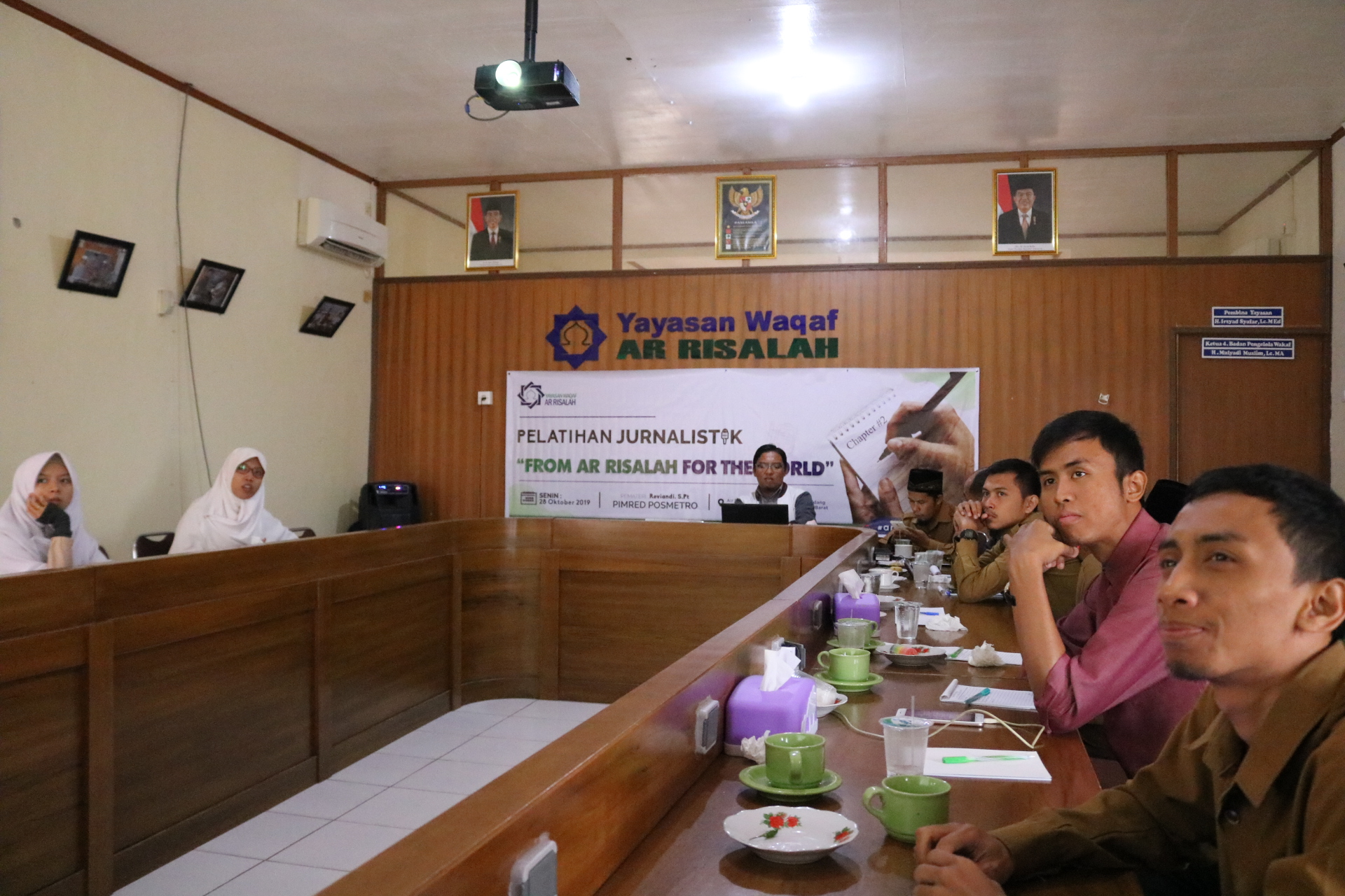 Ar Risalah Gelar Workshop Jurnalistik Chapter II