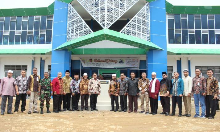 Gedung Baru SMP Putri Ar Risalah Diresmikan