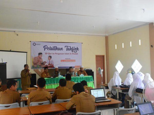 Guru SD Qur'an Ar Risalah Ikuti Pelatihan Tahfiz