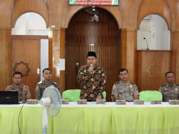 Polresta Padang Bidik Siswa Berprestasi MA Ar Risalah