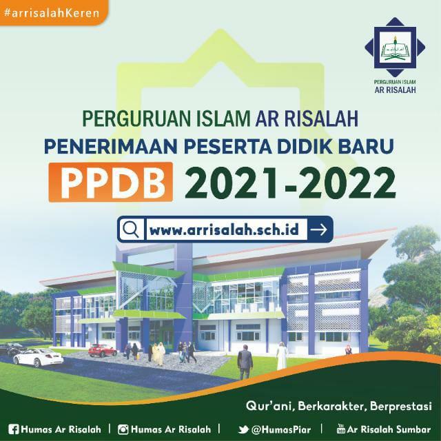 Tutorial Pendaftaran Online PPDB Perguruan Islam Ar Risalah 2021 2022