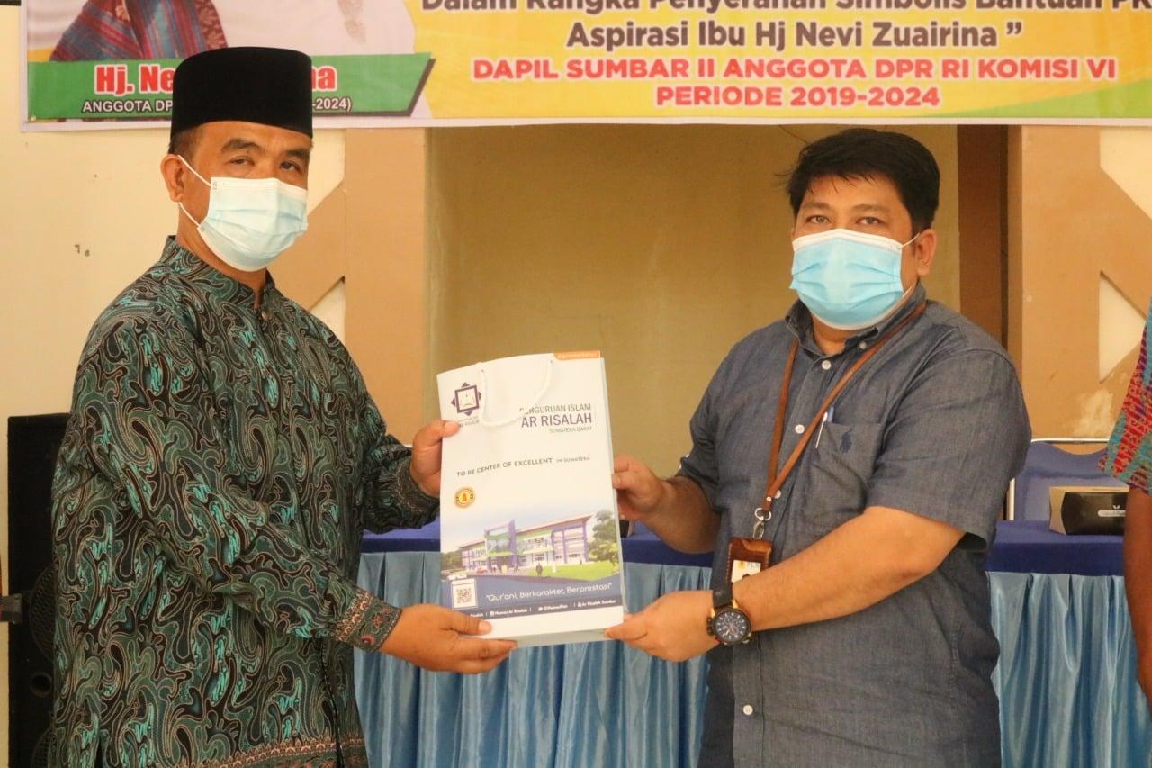 Perguruan Islam Ar Risalah menerima bantuan PKBL