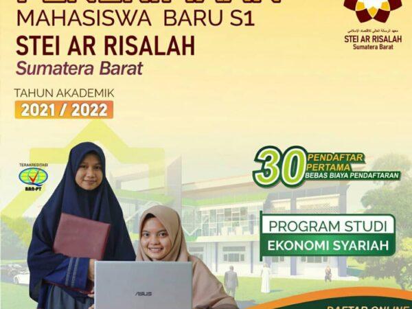 Penerimaan Mahasiswa Baru STEI Ar Risalah 2021/2022