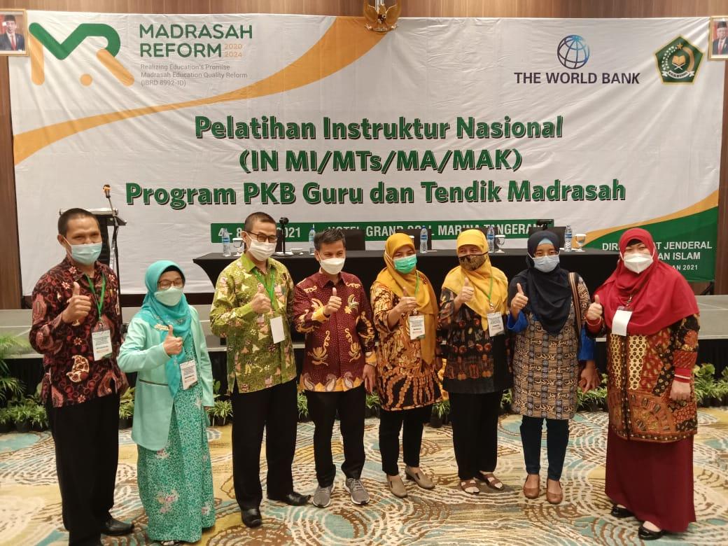 Guru MA Ar Risalah Padang Siap Jadi Instruktur Nasional