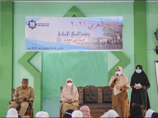 Mukhayyam Arabiyy SMP Perguruan Islam Ar Risalah Tumbuhkan Kecintaan pada Bahasa Arab